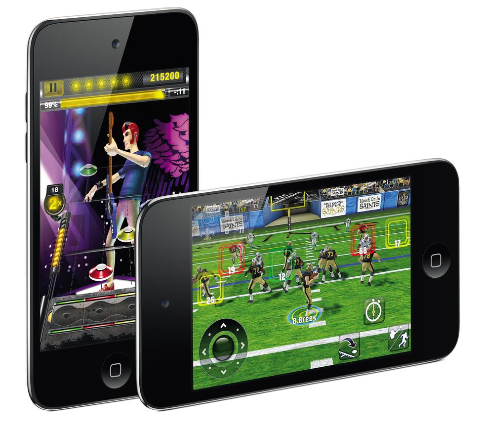 iPod Touch, videoconsola portátil