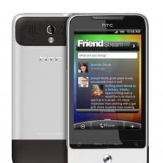 Frontal y trasera del HTC Legend