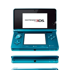 Nintendo 3DS en color azul