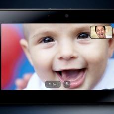 Videoconferencia con PlayBook