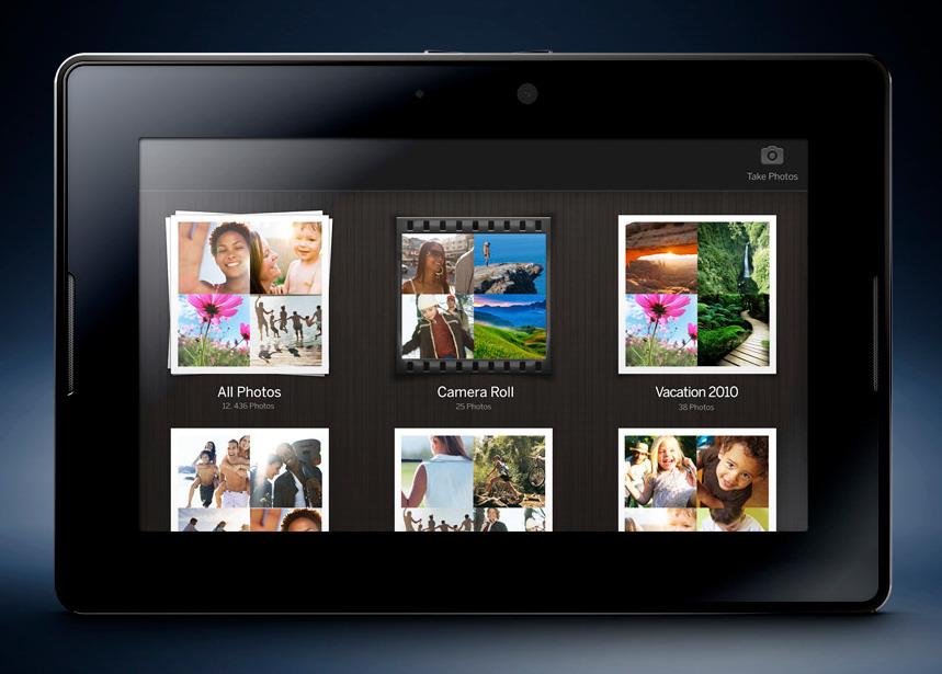 Galería multimedia de PlayBook