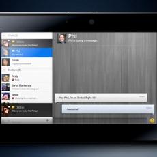 BlackBerry Chat en PlayBook