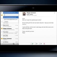 E-mail en PlayBook