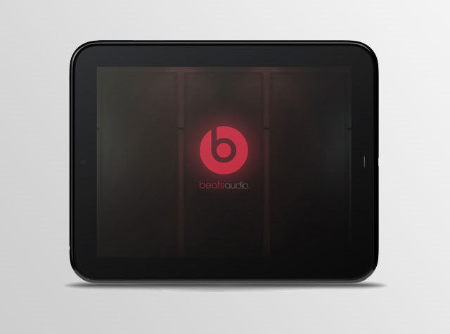 HP Touchpad con altavoces estéreo Beats Audio