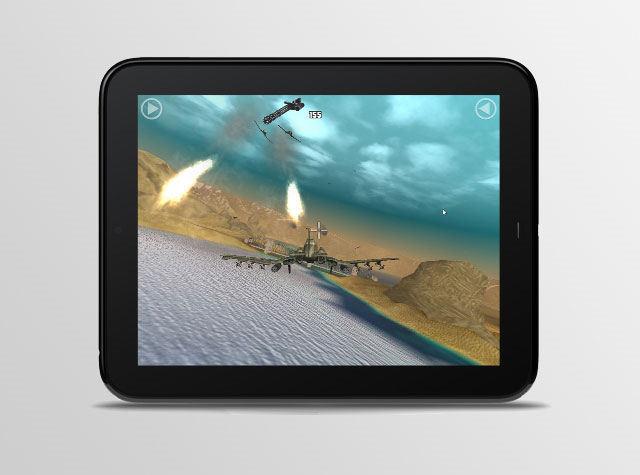 HP Touchpad también para videojuegos