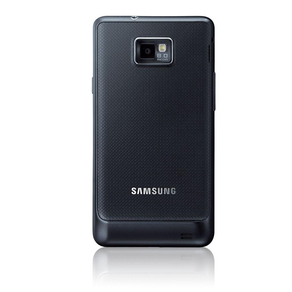 Samsung Galaxy S II por detrás