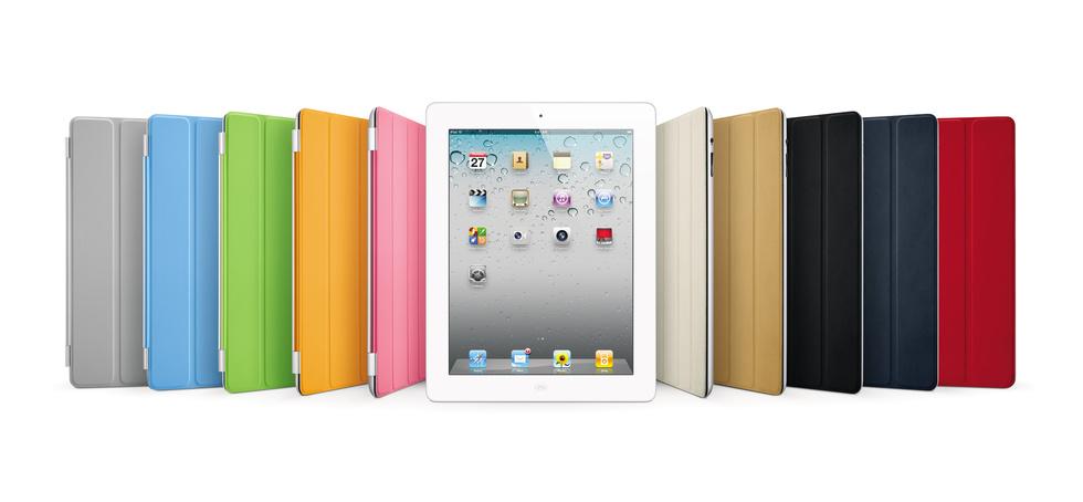 Smart Covers de colores para iPad 2