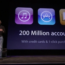 Más de 200 millones de cuentas en Apple