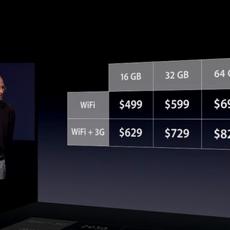 Los precios del iPad 2