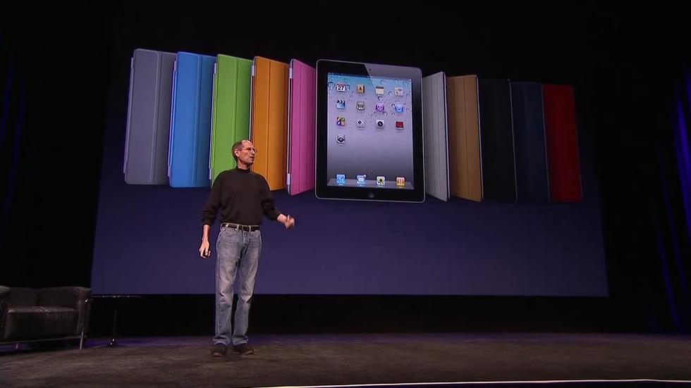iPad 2: Smart Covers de colores