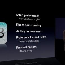 Novedades de iOS 4.3