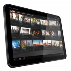 YouTube en el Motorola Xoom