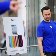 Nueva York se prepara para el iPad 2
