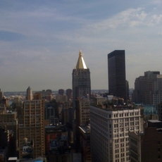 Skyline tomado con un iPhone