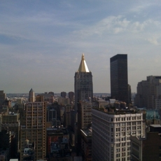 Skyline tomado con un iPhone 3G