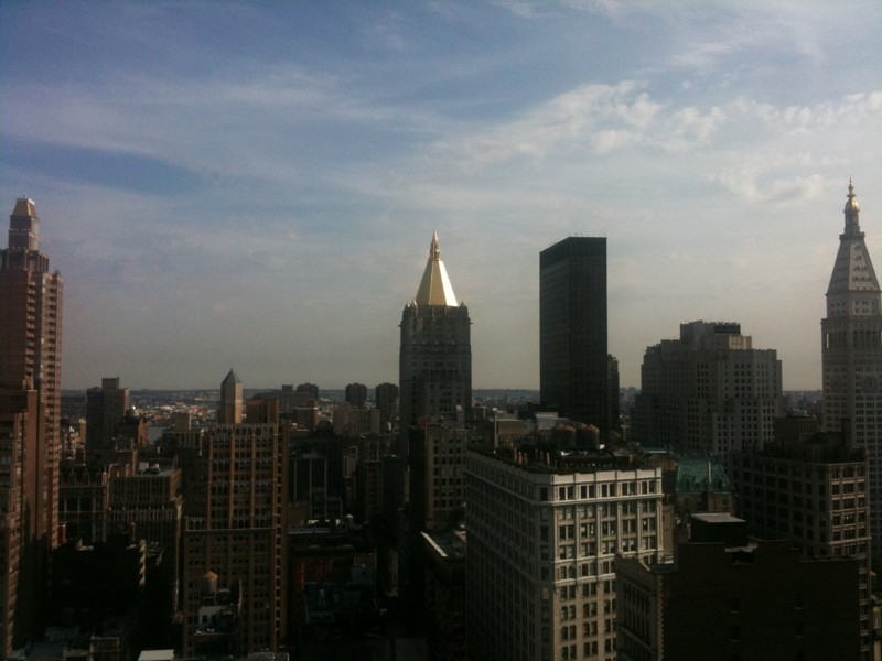 Skyline tomado con un iPhone 3GS