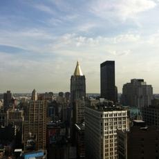 Skyline tomado con un iPhone 4