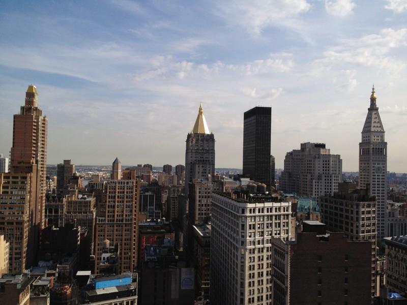 Skyline tomado con un iPhone 4S