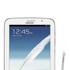 Frontal del Samsung Galaxy Note 8.0 con el S Pen