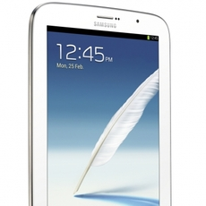 Samsung Galaxy Note 8.0 de color blanco