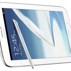 Samsung Galaxy Note 8.0 en posición horizontal