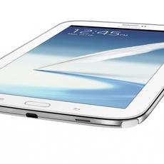 Vista inferior del Samsung Galaxy Note 8.0