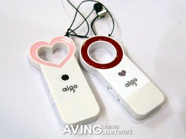 Pendrive USB Aigo, para enamorados