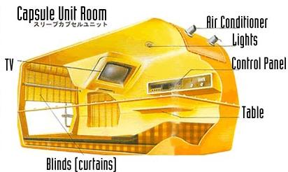 Posada con \'cápsulas\' en lugar de habitaciones