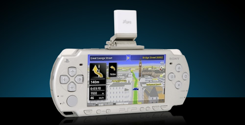 GPS para la Sony PSP
