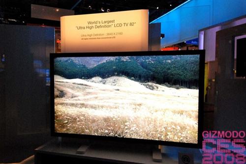 LCD de 82 pulgadas, record de Samsung en el CES 2008