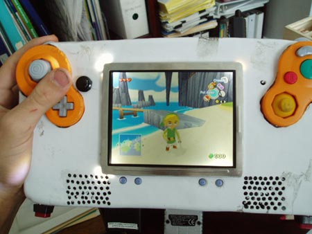 Game Cube portatil chapuzas edition.