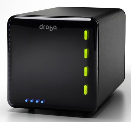 Drobo, sistema de almacenamiento NAS por USB