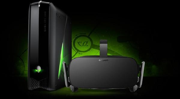 Paquete de Oculus Rift con Alienware