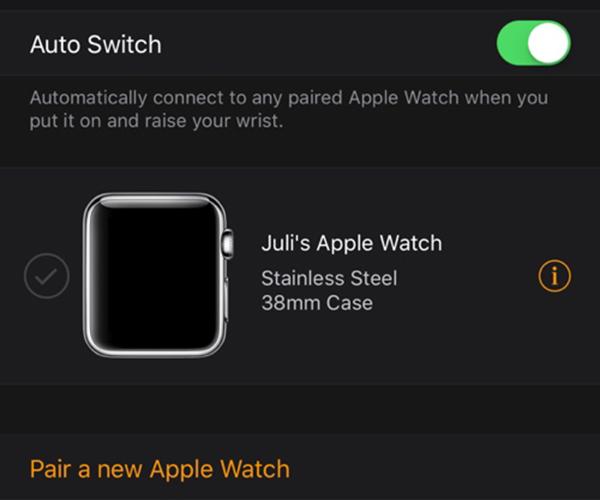 Más de un Apple Watch con iOS 9.3