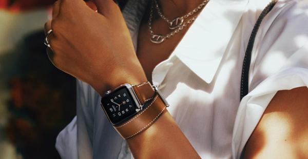 Apple Watch con la correa Hermes