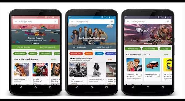 Imagen de la tienda de aplicaciones Google Play