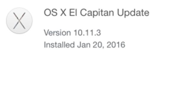Actualización a OS X 10.11.3
