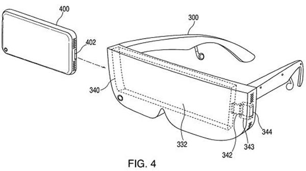 Diagrama sobre la posible VR de Apple.