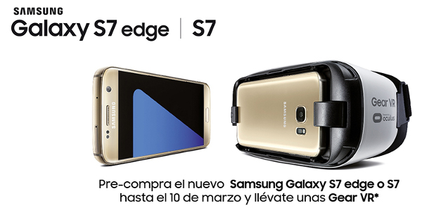 Especificaciones Galaxy S7 y S7 edge