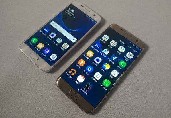Samsung Galaxy S7 y Galaxy S7 Edge.
