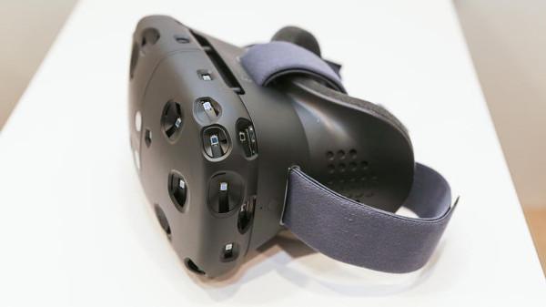 El casco VR de HTC y Valve