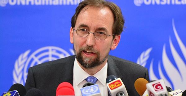 Zeid Ra'ad Al Hussein, Alto Comisionado de la ONU