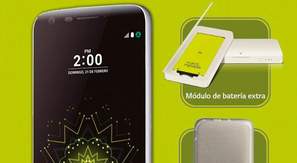El LG G5 llegará a España a un precio de 699 euros y ya se puede reservar