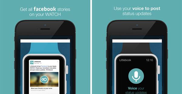 Así es Littlebook para Apple Watch