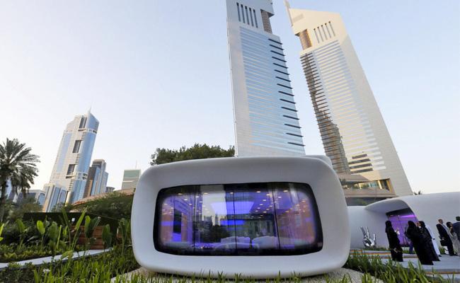 Una oficina pionera en Dubai