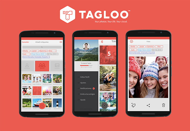 Tagloo se estrena como la alternativa a Facebook Moments hecha en España