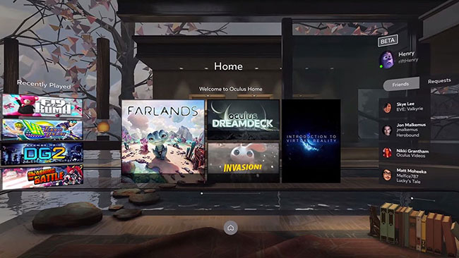 Oculus quita el DRM para que se puedan usar sus juegos en otros casos de VR