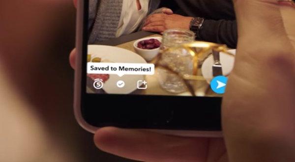 Así se ve la nueva herramienta de Snapchat
