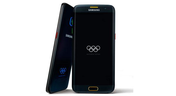 Samsung lanza un Galaxy S7 Edge Edición especial Juegos Olímpicos Rio 2016