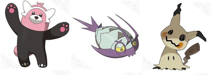 Nuevos Pokémon